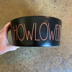 Brand NEW Rae Dunn Halloween Pet Dog Bowl
